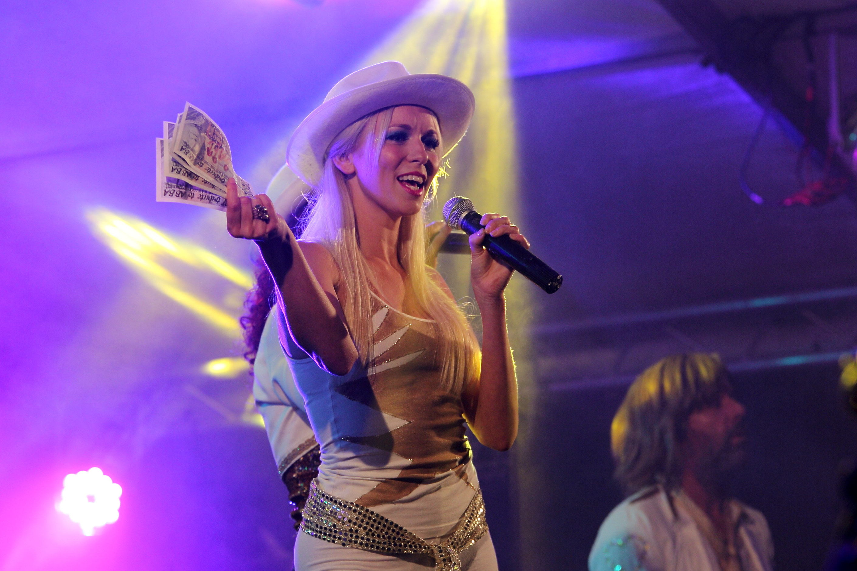 Georgie as Agnetha ABBA Chique