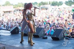 ABBA Chique festival Isle of Wight