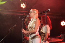 The hottest ABBA tribute girls