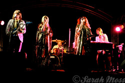 ABBA band performing live