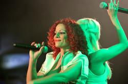 ABBA tribute band performance