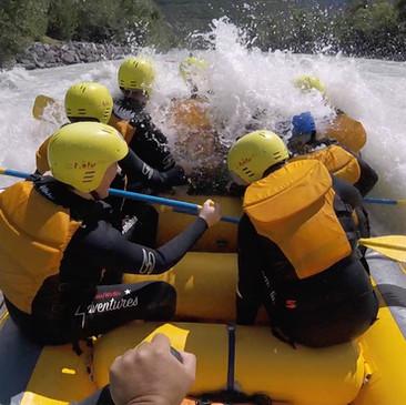 Rafting on the Rhone