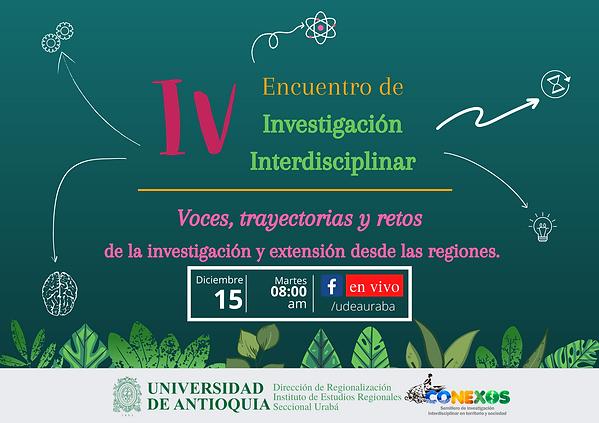 IV Encuentro de Investigación Interdisci