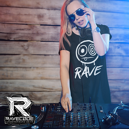"""Tshirt Ravecode - Rave (Collection """"Monster"""")"""