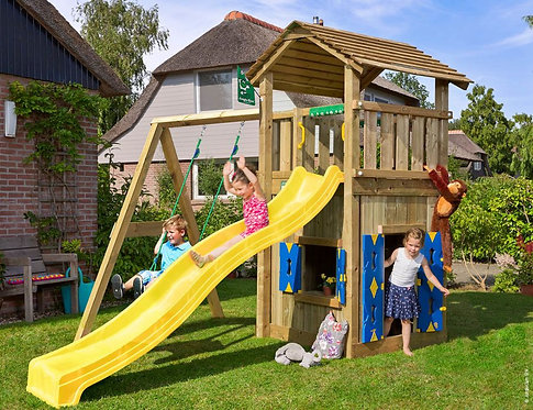 Cottage Playhouse 1-Swing