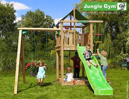 Bērnu rotaļu laukums Lodge 1Swing