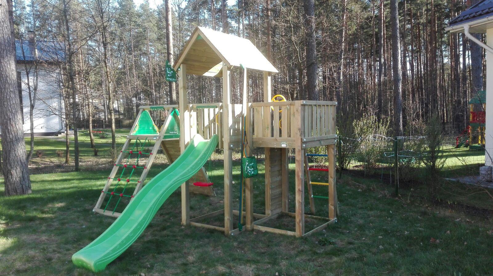 Bērnu rotaļu laukums Mansion Climb
