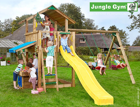 Bērnu rotaļu laukums Chalet Minimarket Swing