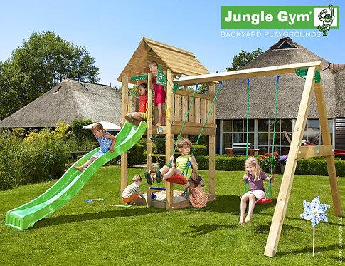 Bērnu rotaļu laukums Cabin 2 Swing