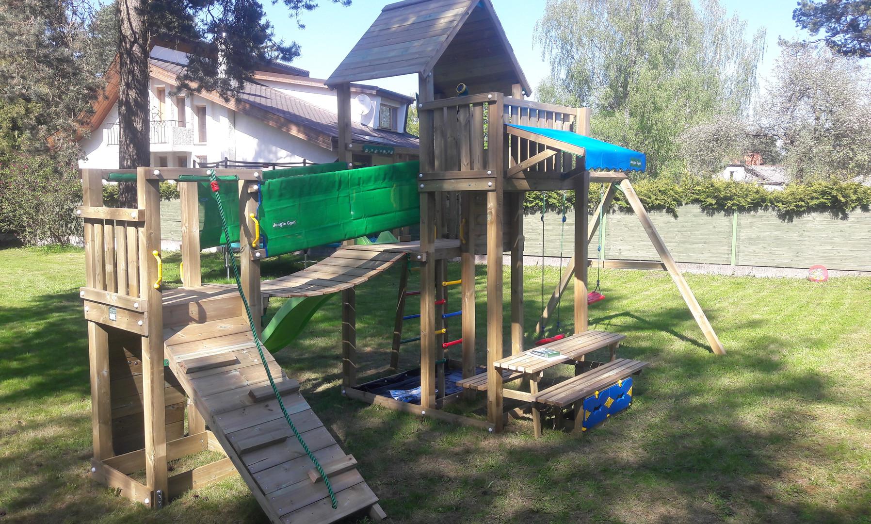 Bērnu rotaļu laukums Palace Bridge Picnic Swing