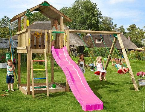 Bērnu rotaļu laukums Chalet 2 Swing