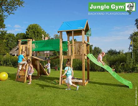 bērnu rotaļu laukums Castle Bridge