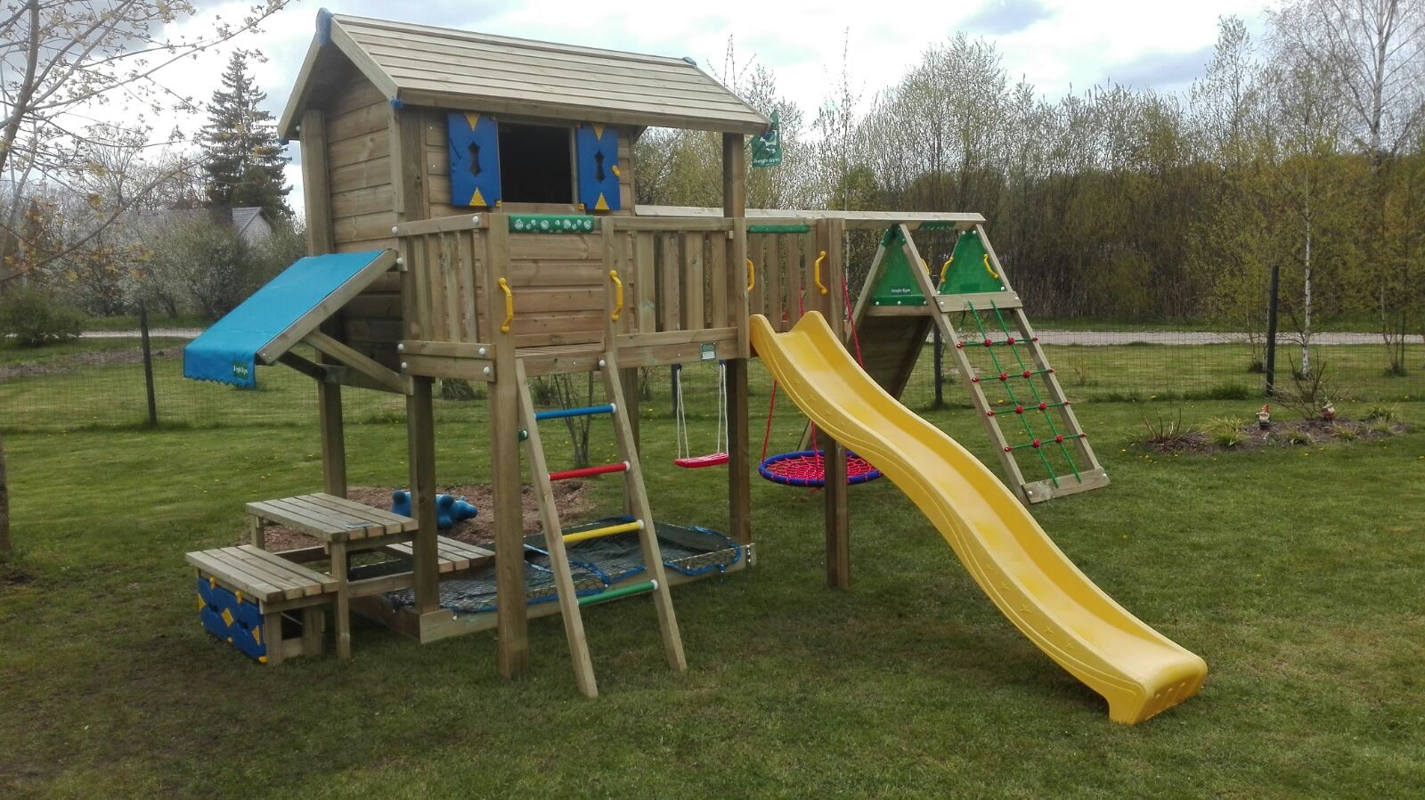 Bērnu rotaļu laukums Playhouse XL Climb Picnic