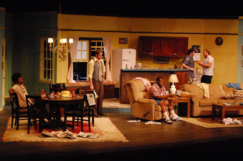 The Odd Couple Set Design