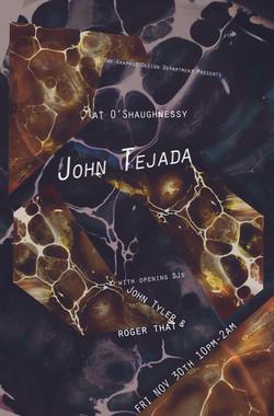 John Tejada Poster
