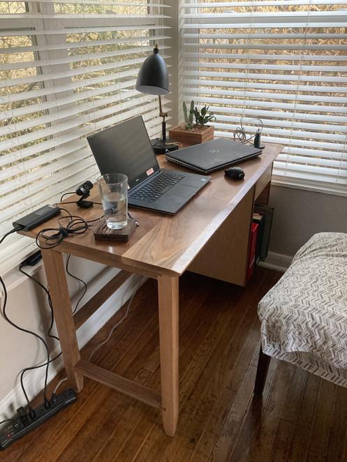 Solid Walnut Desk