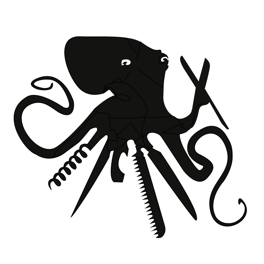Octopus Swiss Army Logo