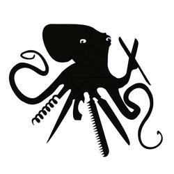 Octopus Swiss Army Logo