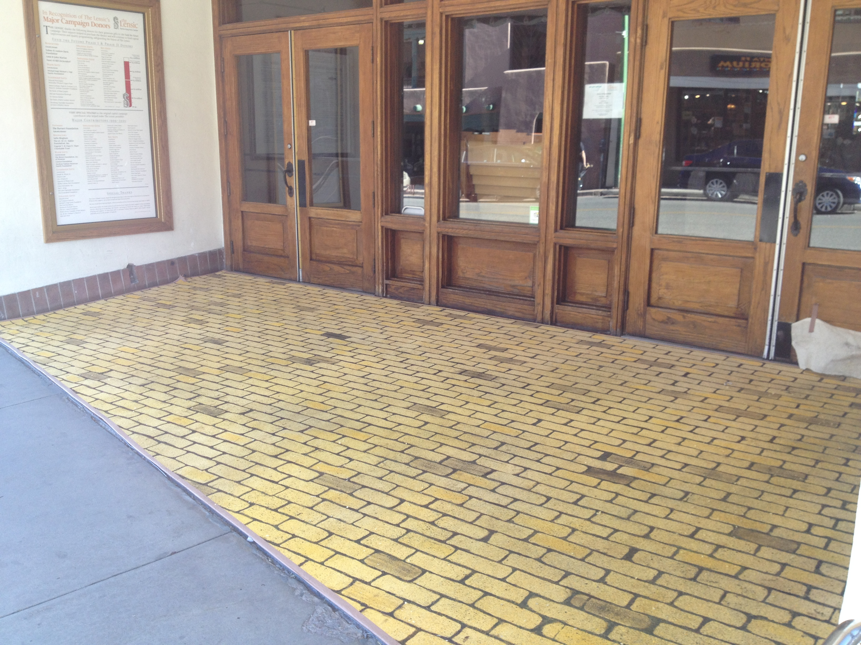Yellow Brick Road Carpet