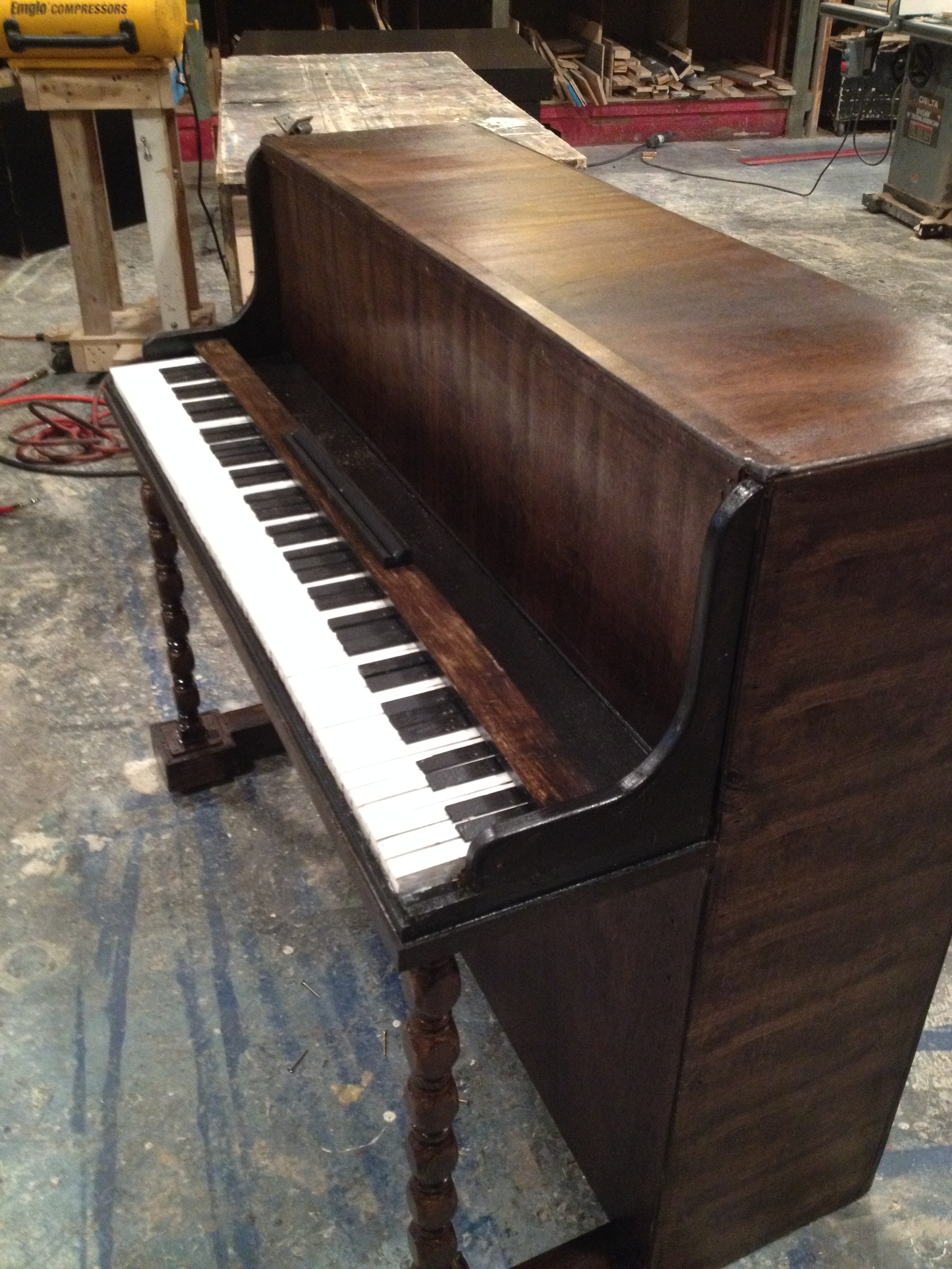 Finished Prop Piano