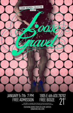 Loose Gravel Poster