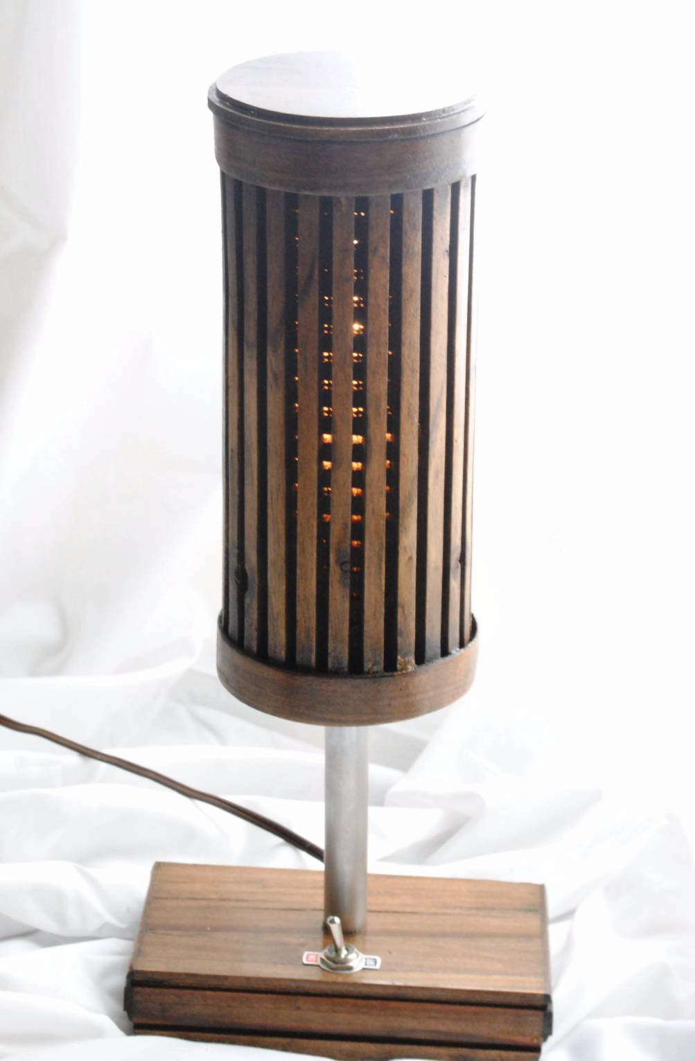 Recycled Wood Lamp