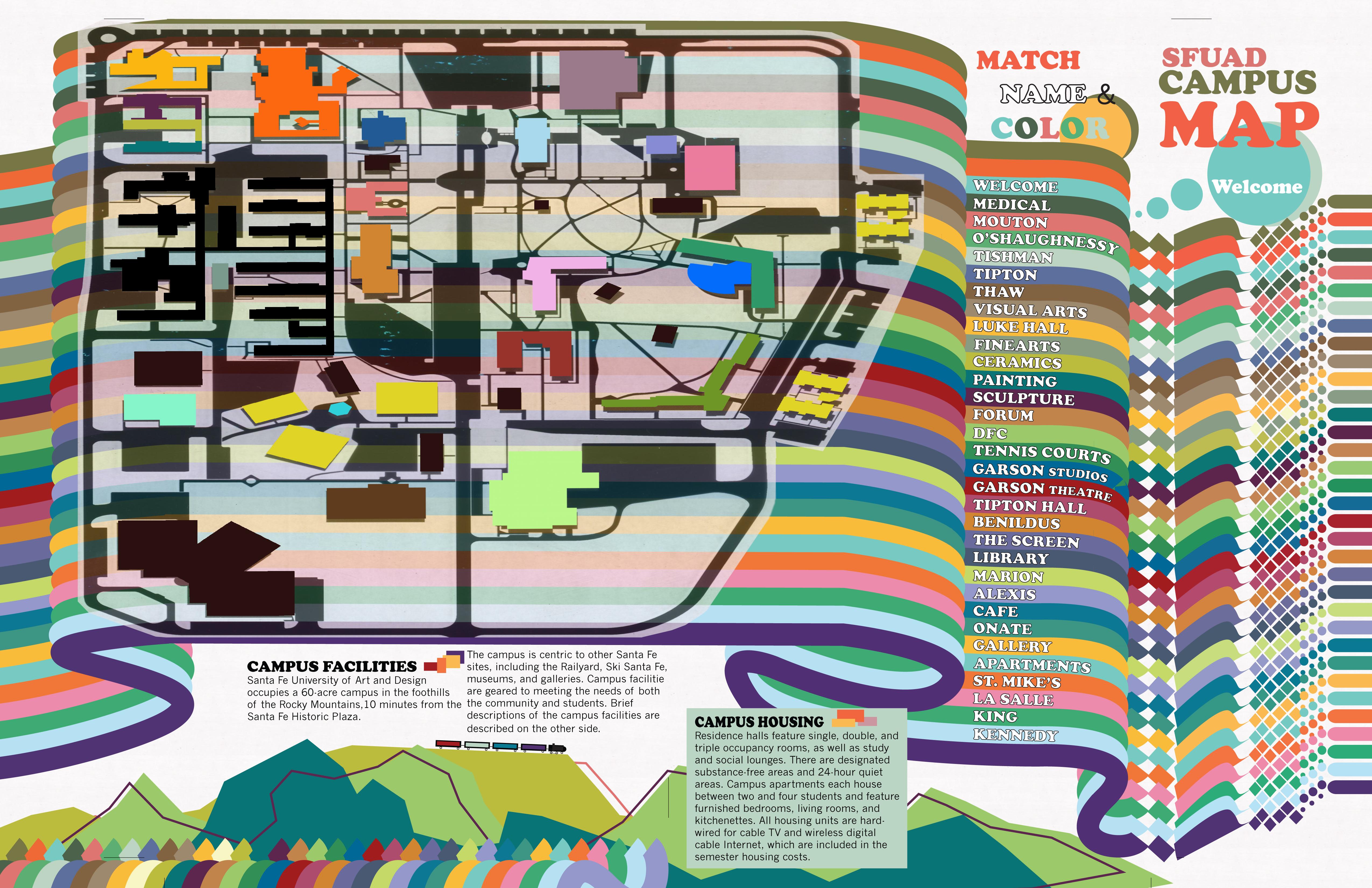 Confusing Campus Map