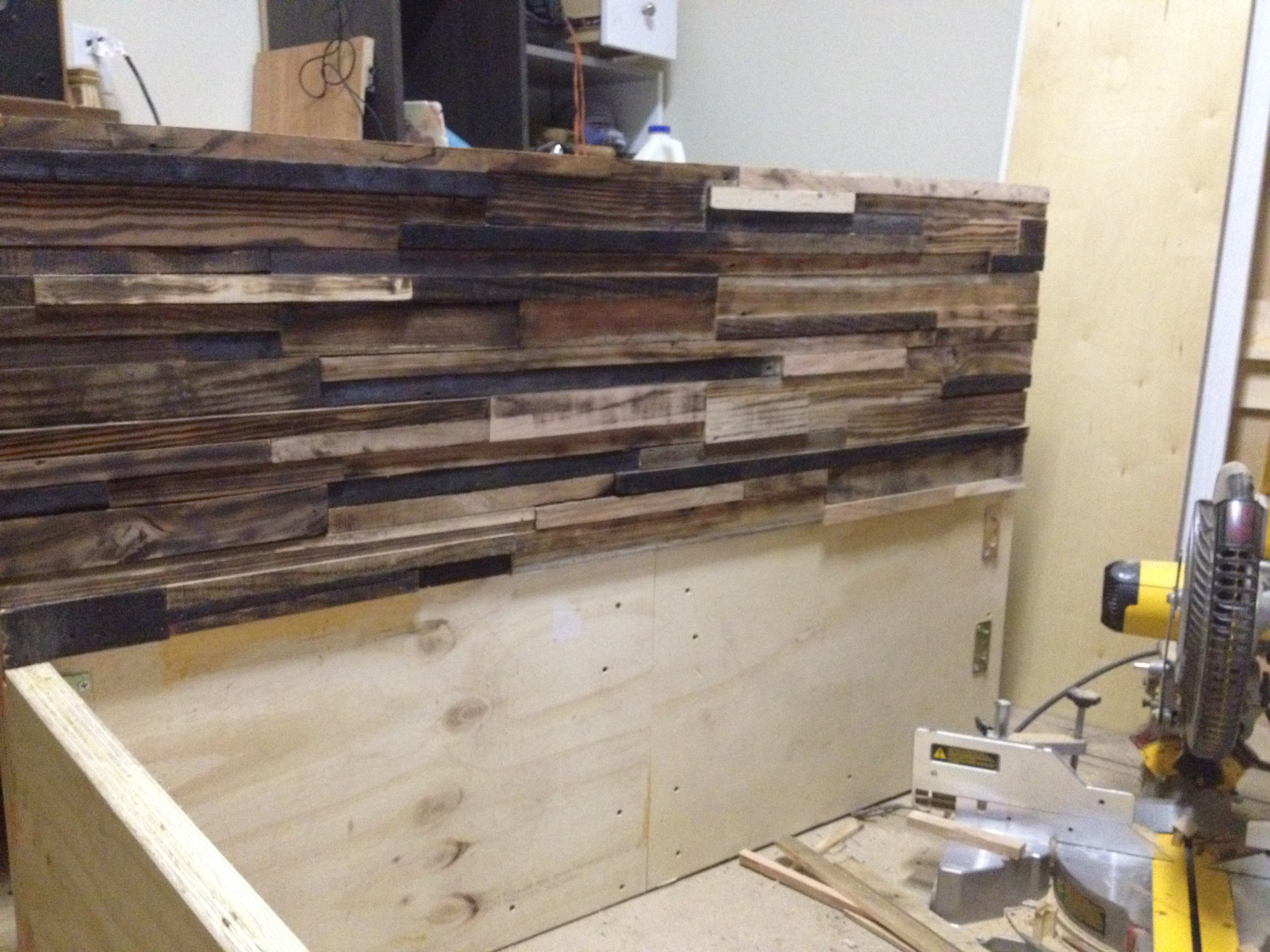 Recycled Wood Bed