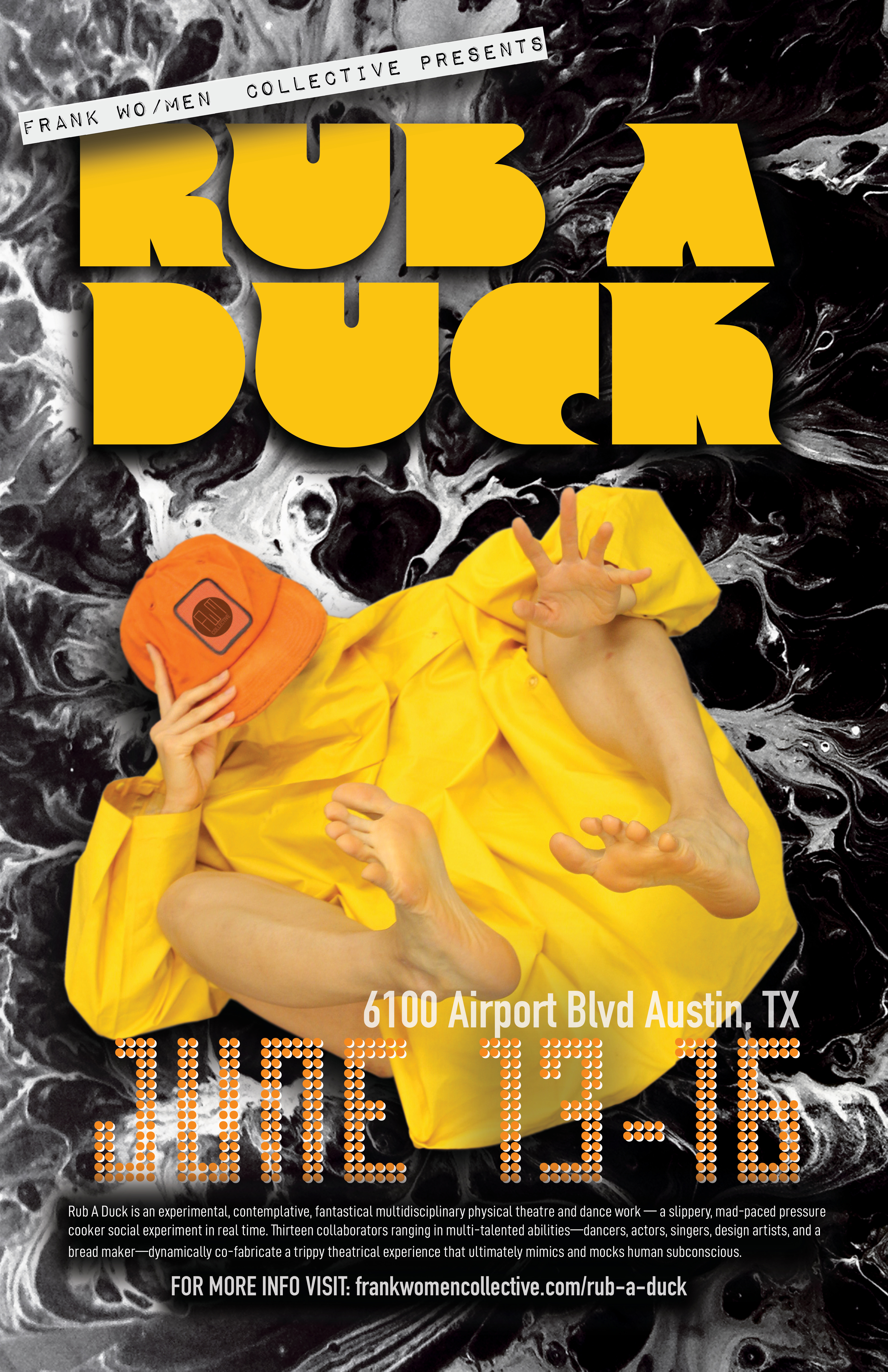 Rub A Duck Poster