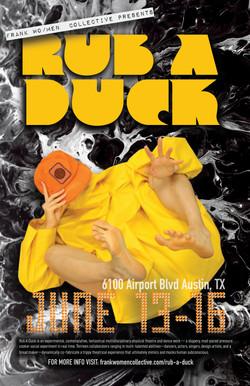 Rub A Duck Poster
