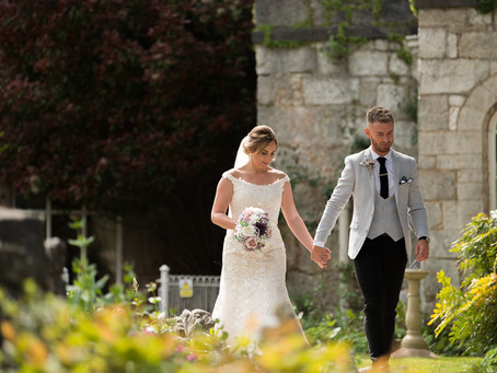 Ruthin castle wedding video - Ste & Rebecca