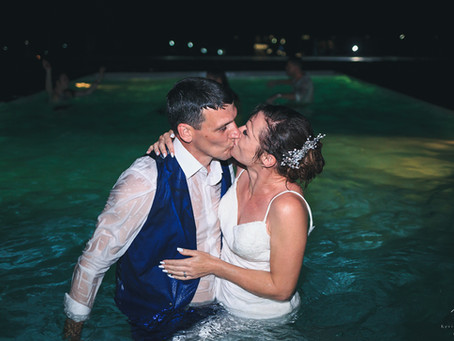 Santorini wedding videography - Frances & Paul