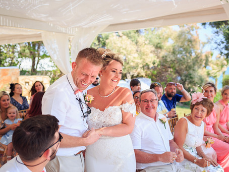 Cyprus wedding video - Emily & Cody