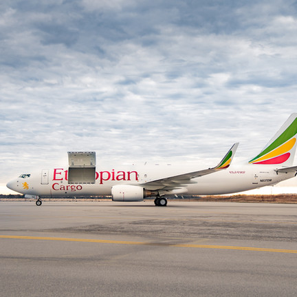 B737-800SF Ethiopian Airlines