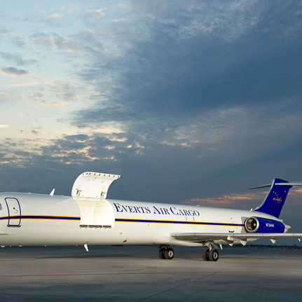 MD-80SF Everts Air Cargo