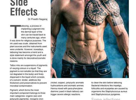 Tattoos and their side effects