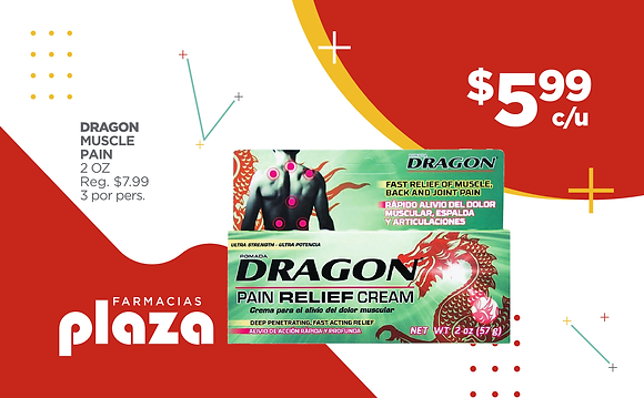 DRAGON MUSCLE PAIN