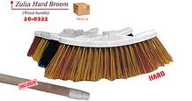 20-0322 Zulia Hard Broom Wood Handle