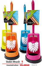 20-0860 Toilet Brush Assorted Colors