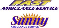 Fast Sunny Ambulance