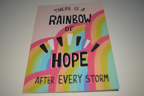 Hope After Every Storm Greetings Card