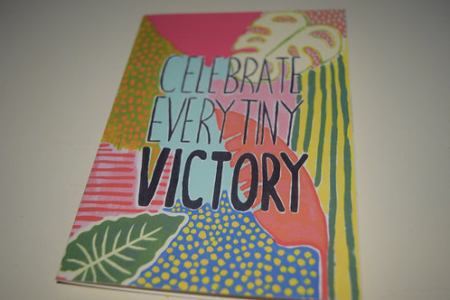 Celebrate Every Tiny Victory Greetings Card