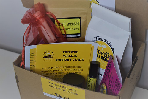 Weegie Wellbeing Box (The Big Yin)
