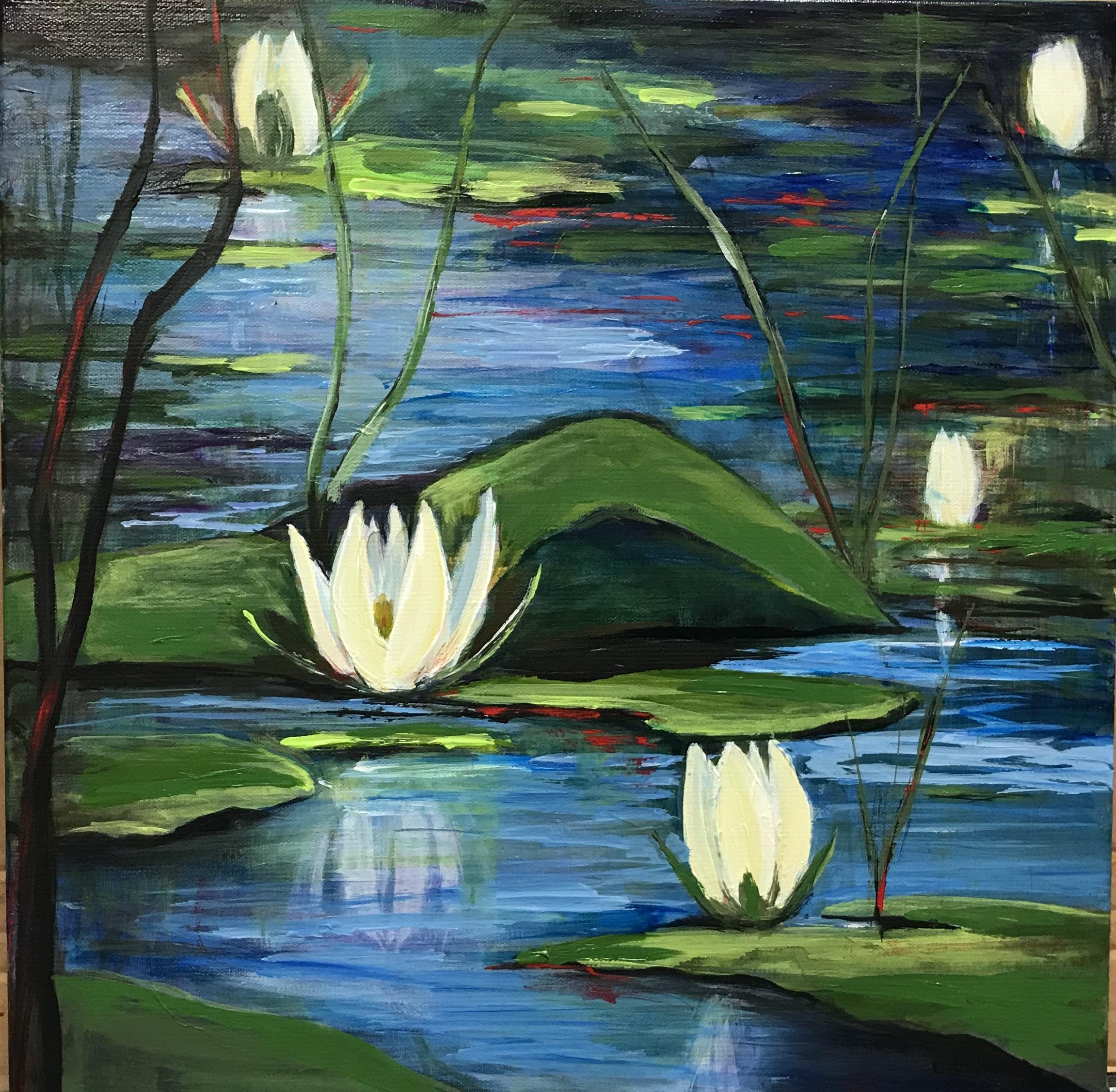 16x16 Lily Pond 275