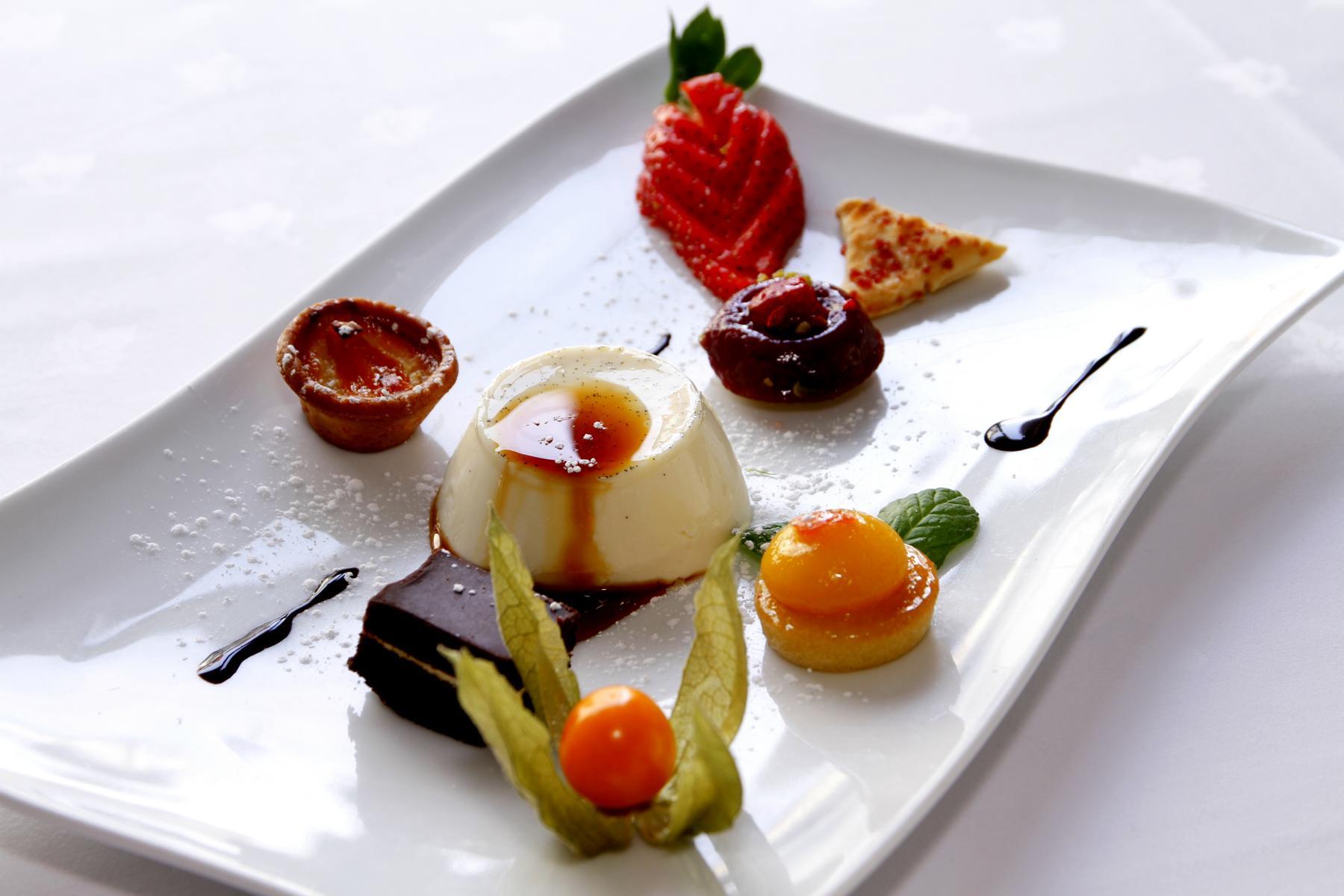 Dessert Komposition