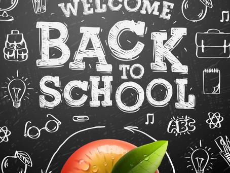 School Starts August 19th!