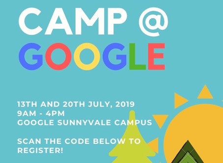Summer Camp at Google!