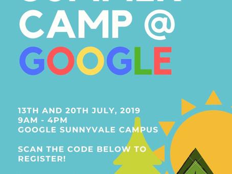 Summer Camp at Google!