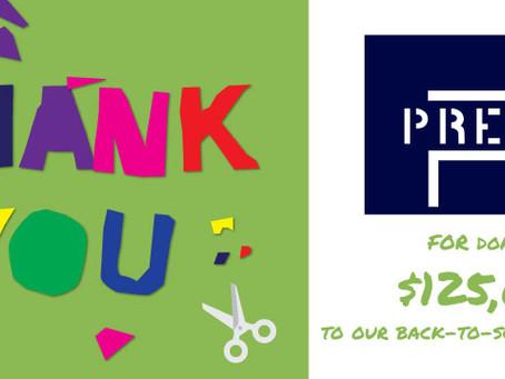 Thank You to Premia Capital
