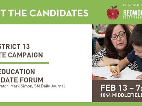 RCEF hosts Senate Candidates Forum